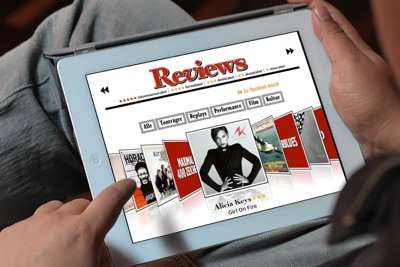 Rolling Stone Magazine iPad issue – Concept, digital design and production for the German edition